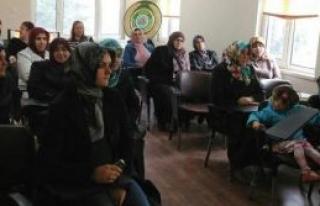 Kadın çiftçilere özel eğitim