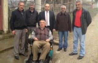 Kıbrıs Gazisi'ne Araba Sürprizi
