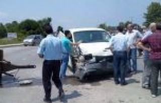 Kocaali'de trafik kazası: 1 ölü