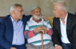 Milletvekili Ali İnci Gazi Babasını Ziyaret Etti