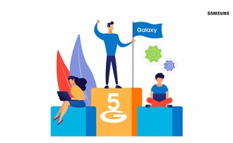 Samsung 5G akıllı telefonlarda küresel satışlarda ilk sırada