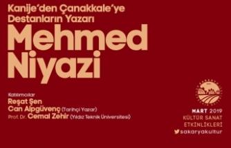 Destanların Yazarı Mehmed Niyazi konuşulacak