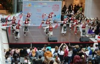 Agora AVM; Halk Oyunları Festivali'ne ev sahipliği yaptı