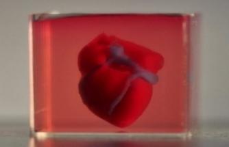 Bilim insanları, 3D yazıcı ile kalp yaptı!