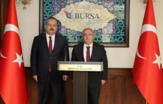 Vali Nayir'den Bursa Valisi Canbolat'a Ziyaret