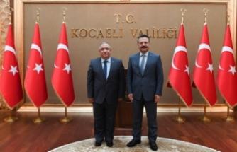 Vali Nayir'den Kocaeli Valisi ve Büyükşehir Belediye Başkanı 'na Ziyaret