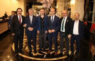 Ankara Sakaryalılar Vakfı'nın İftar Programı'nda Protokol bir araya geldi