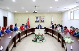 Engelli ve Özel Sporculardan Vali Nayir'e Ziyaret