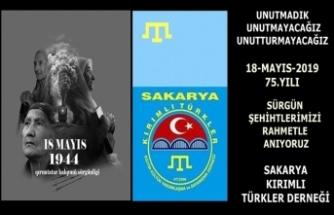 Kırımlılar; Kırım Tatar Sürgününün 75. Yılı andı