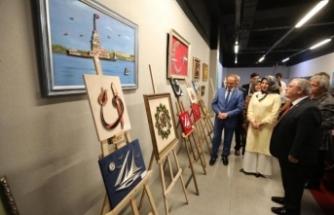 Vali Nayir  Filografide Esmaü'l Hüsna Sergisinin Açılışını Yaptı