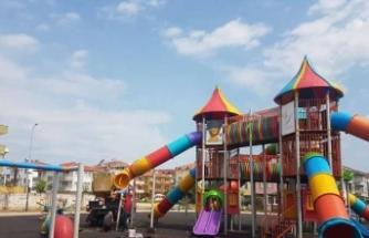 Çocuk Oyun Parkları Bakımdan Geçiyor