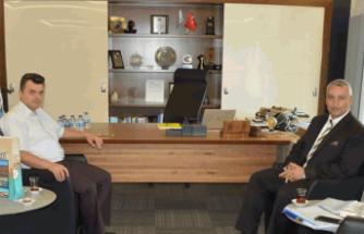 Başkan Sarı'dan SEDAŞ'a Ziyaret