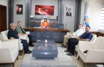 Akif Yener; Fazilet Durmuş'a ziyaret etti