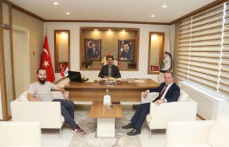 Anadolu Ajansı'ndan Başkan Acar'a ziyaret