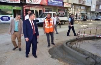 Karasu Belediyesinden Seri ve Uzun Ömürlü Kaldırım Çalışması