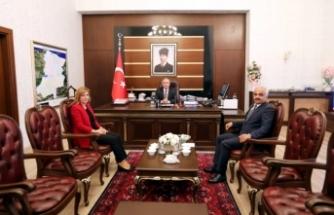 Orman Bölge Müdürü Polat'tan Vali Nayir'e Ziyaret