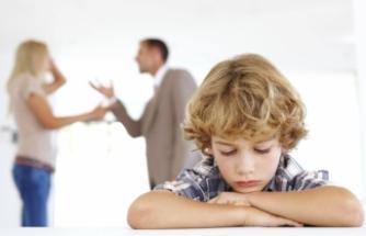 Evdeki tartışmalar çocukları etkiliyor!