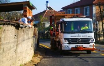 Ferizli'de 12 bin 800 metrelik güzergahlar yenilendi