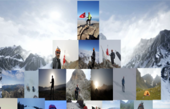 Türk dağcılık spor tarihinde bir ilk