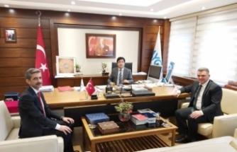 """Başkan İshak Sarı; """"Ankara ziyaretlerimiz devam ediyor."""