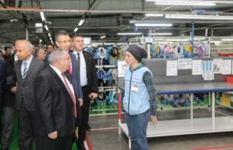 Vali Nayir'den Yazaki Fabrikasına Ziyaret