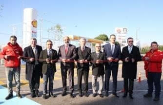Shell & Turcas, Türkiye'nin ilk LNG istasyonunu açtı