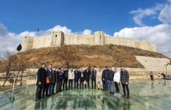 ASKON heyeti Antep'te bir dizi ziyaret gerçekleştirdi
