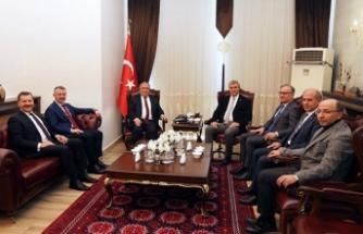Marmara Belediyeler Birliği Üyelerinden Vali Nayir'e Ziyaret