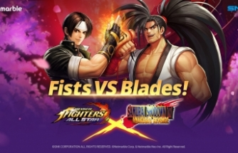 Samurai Shodown, THE KING OF FIGHTERS ALLSTAR'a geliyor