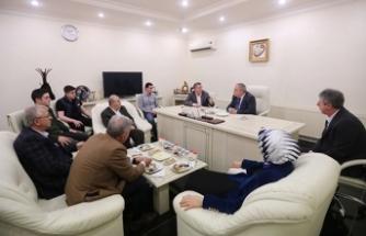 Vali Nayir 3. OSB Sosyal Tesisleri ve Özgüllü Süt Fabrikasını gezdi