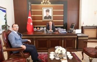 Yeni İl Müdüründen Vali Nayir'e Ziyaret