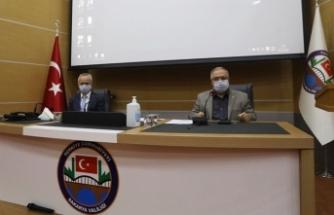 İl Pandemi Kurulu Toplantısı Vali Nayir Başkanlığında Gerçekleştirildi