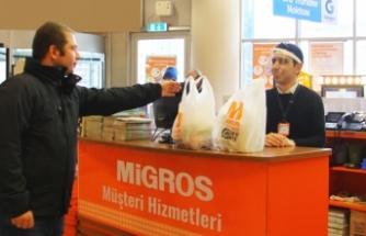 Migros online ticarete yeni kulvar açtı