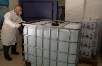 Sabancı holding'den 10 ton yeni nesil dezenfektan desteği