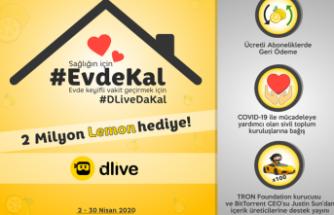 #DLiveDaKal 'an 160binTL hediye kazanıyor