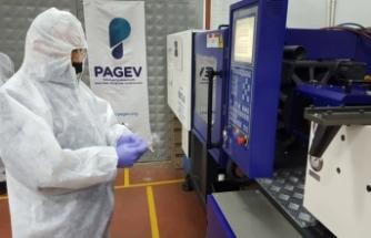 PAGEV MTAL hastane ve huzur evleri için tek kullanımlık çatal, kaşık, bıçak üretimine başladı