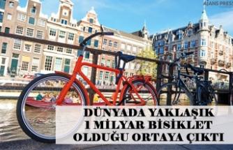 Dünyada yaklaşık 1 milyar bisiklet olduğu ortaya çıktı