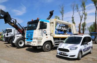Kocaali Belediyesi 4 yeni hizmet aracı ile filosunu genişletti