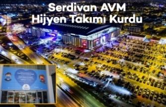 Serdivan AVM Hijyen Takımı Kurdu