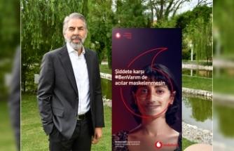 """Vodafone'dan """"şiddete karşı #Benvarım"""" kampanyası"""
