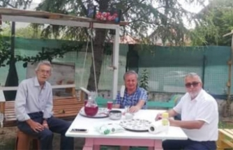 Abdullah Kırım Dostlarını Ziyaret Etti