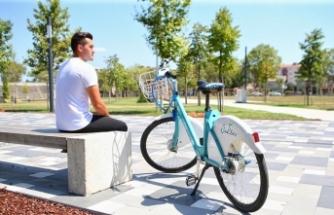 Akıllı bisikletler 90 bin kiralamayı aştı