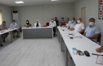 İlçe Müdürleriyle Değerlendirme Toplantısı