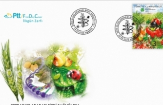 """Ptt Aş'den """"2020 Uluslararası Bi̇tki̇ Sağlığı Yılı"""" Konulu Anma Pulu"""