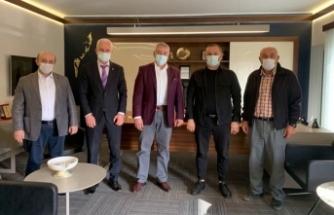 Artan Şi̇kayetler Konuşuldu Müteahhitler Sedaş'a Gitti
