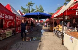 Başkan Altuğ'dan Kentpark'ta kurulan yöresel ürünler fuarına tepki