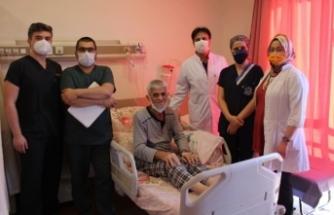 SAÜEAH Gastroenteroloji 54. hastasını şifayla taburcu etti