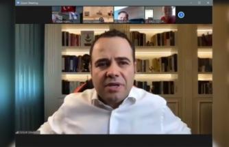 Prof. Dr. Özgür Demirtaş Covid-19 Sürecinin Ekonomik Yansımalarını SATSO Meclisinde Anlattı