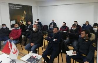 Başkan Erkan TURAN ilk toplantısını yaptı