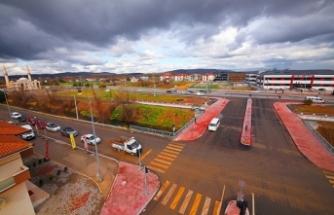 Köprü geçişli yol projesi hizmete başladı